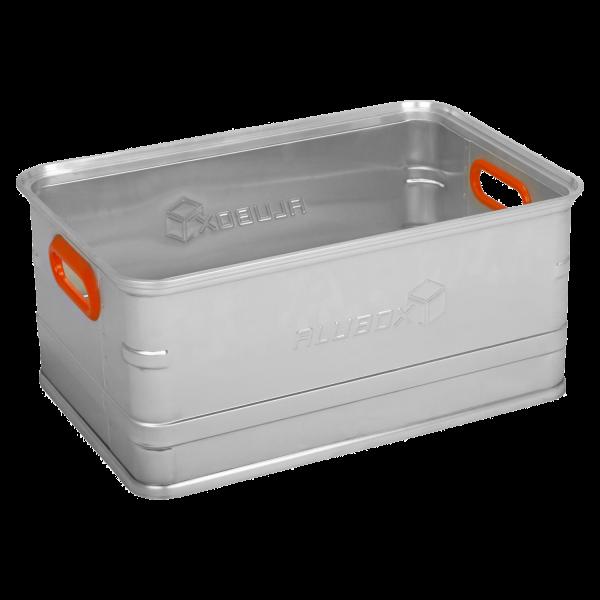 ALUBOX Aufbewahrungsbox U56 mit 56 Liter Volumen