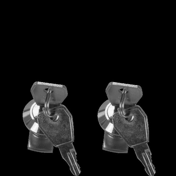 Zylinderschlösser für ALUBOX Alukisten inkl. 4 Schlüssel