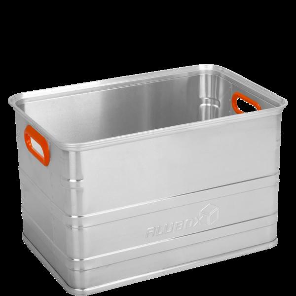 ALUBOX Aufbewahrungsbox U80 mit 80 Liter Volumen